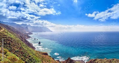 Papiers peints Cote Canarian landscape. Panorama