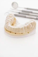 Orthodontic Cast and Bruxism Guard