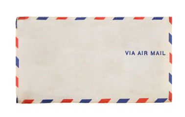 Via Air Mail Vintage Envelope 1941 Airmail