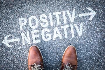 positiv negativ