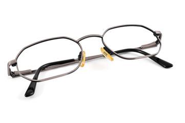 metal-rimmed eyeglasses