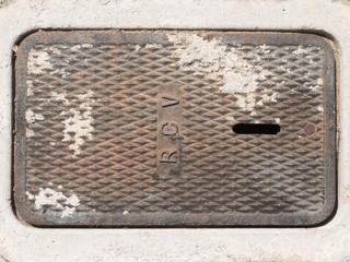 マンホールの蓋