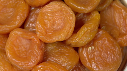 Bright Dried Apricots