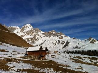 Passo San Pellegrino, Trentino Alto Adige italia