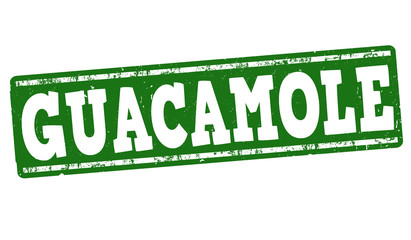 Guacamole stamp
