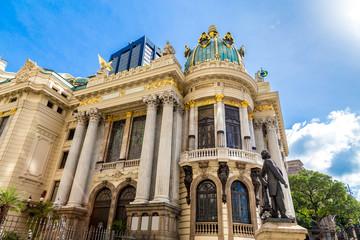Opera House in Rio de Janeiro, Brazil