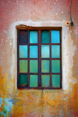 Rusty Green Window