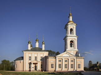 Church of the Ascension in Kimry. Tver Oblast. Russia