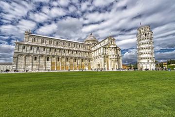 Piazza dei Miracoli in Pisa.