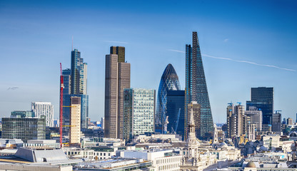 Beautiful London skyline