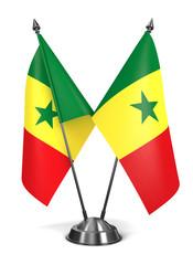 Senegal - Miniature Flags.