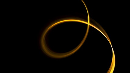 Golden circular motion as a metaphor of speed and power