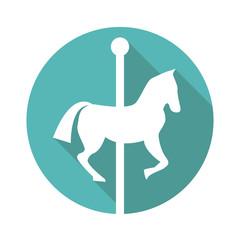 Сarousel vector icon