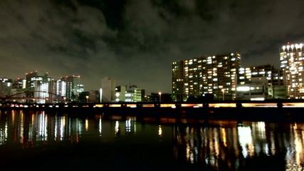 Nightlapse of Tokyo waterfront