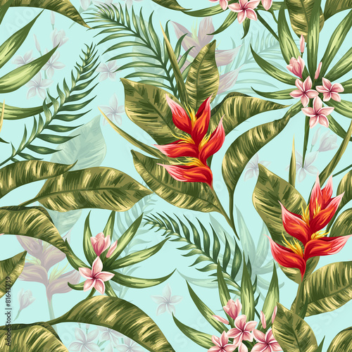 Floral seamless pattern - 81643739