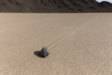 Sailing Stone of Death Valley National Park