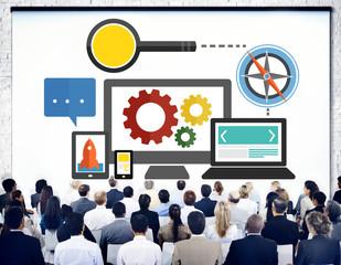 Search Engine Optimization Online Technology Web Concept