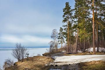 Сибирь,Новосибирская область,река Обь. Весенний пейзаж