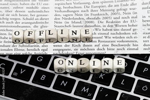 Offline oder Online - 81645329
