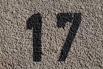 17, dix sept