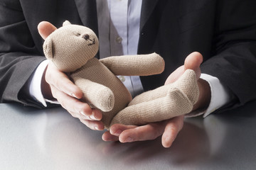 parental leave for father and businessman