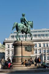 Erzherzog Albrecht Statue in Wien