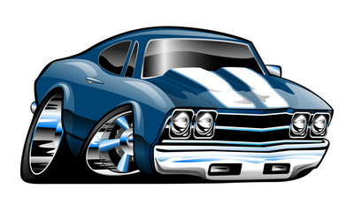 Chevy Chevelle Cartoon