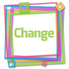 Change Text In Colorful Frame