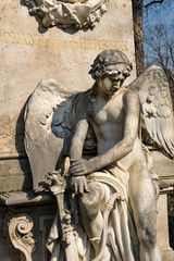 Grabmal auf dem Zentralfriedhof | Wien