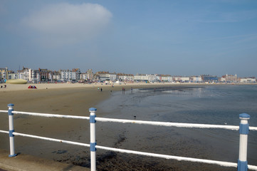 Seafront at Weymouth, Dorset