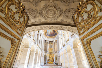 Interior Chateau of Versailles, Versailles, France
