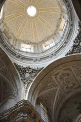 Salamanque, coupole de l'église de  San Sebastian