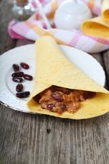 Mexican burrito
