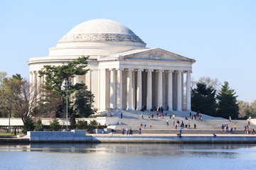 Dawn at the Jefferson Memorial. Washington