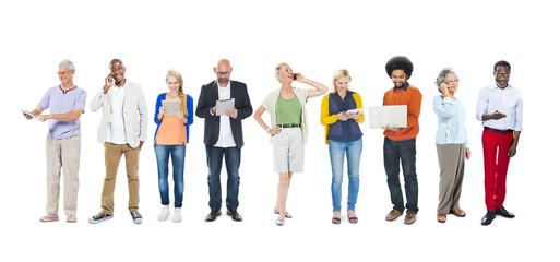 Diversity Multi-Ethnic Variation Togetherness Unity Concept