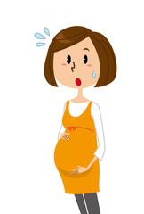 妊婦 驚く 焦る