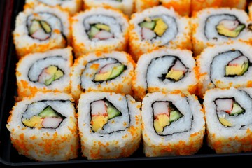 Japanese sushi traditional delicious - japanese food