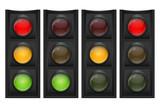 Traffic Light Vector Illustration - 81651382