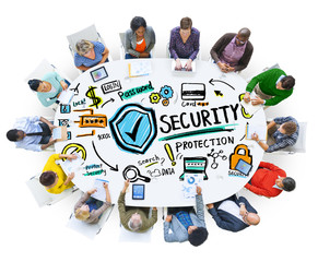 Ethnicity People  Security Protection Communication Concept