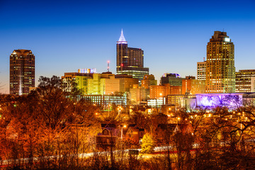 Raleigh, North Carolina, USA Skyline