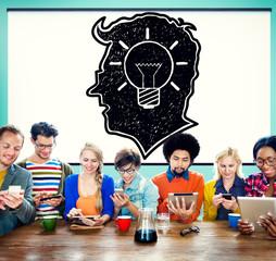 Idea Creative Creativity Imgination Innovate Thinking Concept