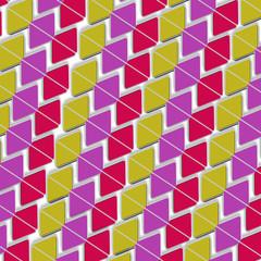 Фон из цветных геометрических фигур