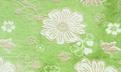 Beautiful floral pattern, fabric texture