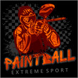 Paintball Team - extreme sport - 81655176
