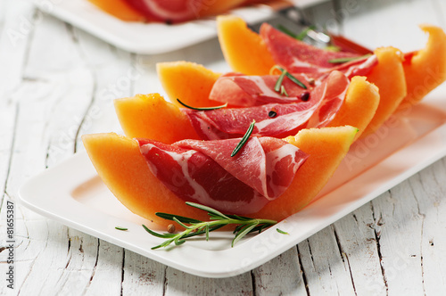 Fotobehang Voorgerecht Concept of italian food
