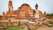 Leinwandbild Motiv Wat Mahatat. Panorama
