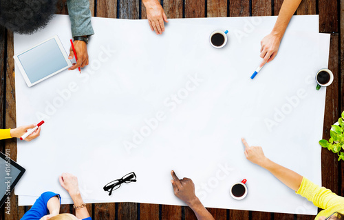 Business Team Planning Project Meeting Concept - 81658911