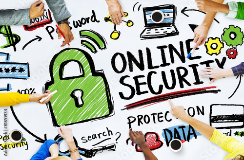 Online Security Protection Internet Safety People Meeting