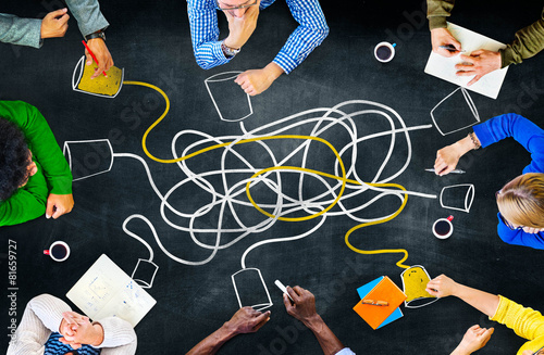 Communicate Communication Telecommunication Connection Calling - 81659727