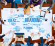 Branding Ideas Commercial Advertising Trademark Concept - 81660172
